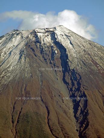 富士山大沢崩れの写真素材 [FYI00094029]