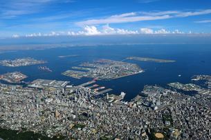 神戸市空撮の写真素材 [FYI00094073]