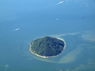 瀬戸内海の小島の写真素材 [FYI00094078]