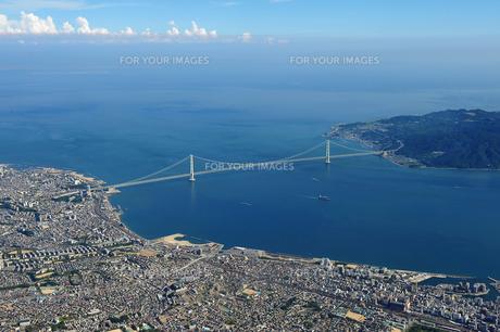 明石海峡大橋の写真素材 [FYI00094091]