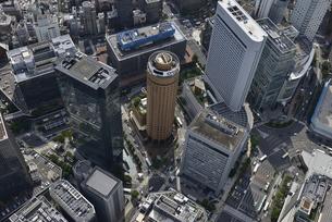 大阪中心部空撮の写真素材 [FYI00094094]