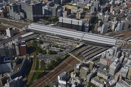 新大阪駅空撮の素材 [FYI00094099]