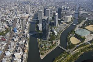 大阪ビジネスパーク空撮の写真素材 [FYI00094106]