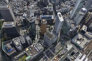 大阪中心空撮の写真素材 [FYI00094116]