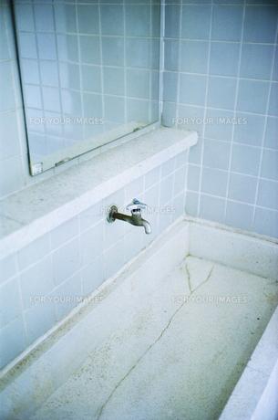 トイレの蛇口の写真素材 [FYI00094121]