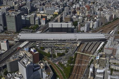 新大阪駅空撮の素材 [FYI00094164]