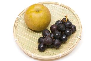 ブドウと梨の写真素材 [FYI00094568]