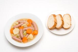 ドイツの家庭料理・アイントプフの写真素材 [FYI00095009]