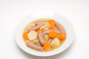 ドイツの家庭料理・アイントプフの写真素材 [FYI00095013]