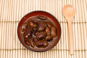 花豆の甘露煮の写真素材 [FYI00095276]