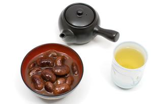 花豆の甘露煮の写真素材 [FYI00095278]