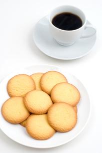 クッキーとコーヒーの写真素材 [FYI00095341]