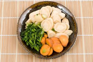 ぬか漬けの野菜の写真素材 [FYI00095435]