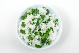 菜飯の写真素材 [FYI00095474]