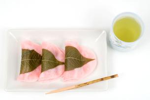 長命寺桜餅(江戸風桜餅)の素材 [FYI00095486]