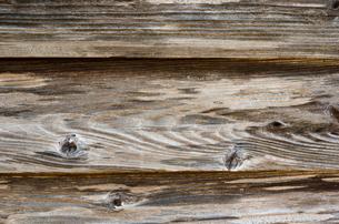 古民家の木の外壁の写真素材 [FYI00096228]