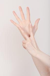 手の写真素材 [FYI00097183]