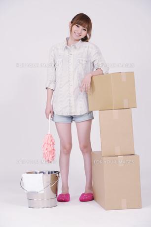 日本人の若い女性の写真素材 [FYI00097649]
