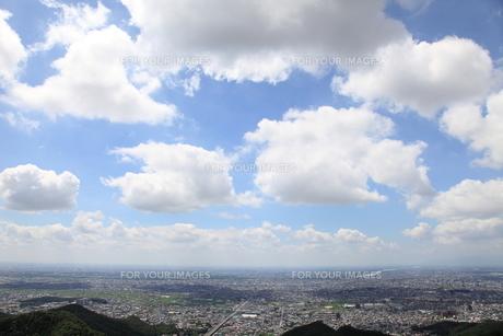 岐阜城からの風景の素材 [FYI00098437]