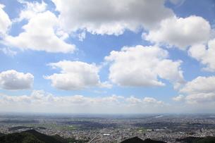 岐阜城からの風景の写真素材 [FYI00098437]