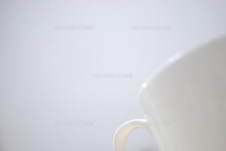 白いマグカップの写真素材 [FYI00098680]