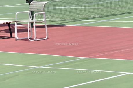 テニスコートの写真素材 [FYI00098856]