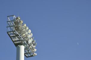 熱田公園の照明設備の写真素材 [FYI00098917]