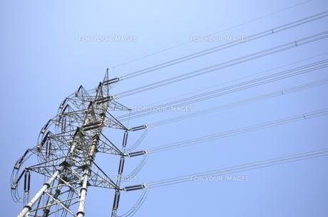 送電線の素材 [FYI00098932]