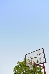 バスケットゴールの写真素材 [FYI00098945]