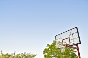 バスケットゴールの写真素材 [FYI00098969]