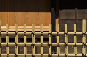 竹垣の素材 [FYI00098977]