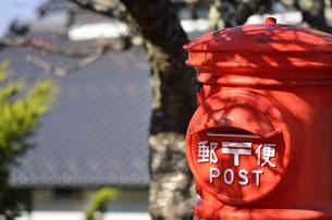 郵便ポストの写真素材 [FYI00099009]