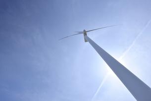 風力発電の写真素材 [FYI00099055]