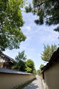金沢長町武家屋敷の写真素材 [FYI00099081]