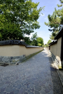 金沢長町武家屋敷の写真素材 [FYI00099085]