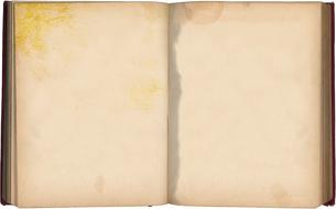 古びた本の写真素材 [FYI00099087]