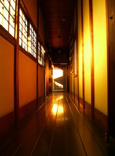 廊下の写真素材 [FYI00099089]