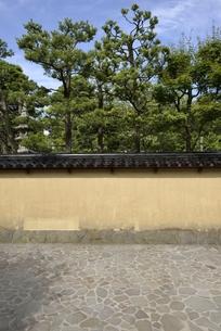 金沢長町武家屋敷の写真素材 [FYI00099127]