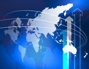 ビジネス世界戦略の写真素材 [FYI00099228]