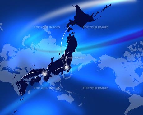 日本列島の写真素材 [FYI00099266]