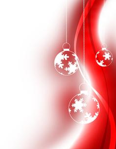 クリスマスボールの写真素材 [FYI00099285]