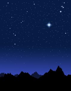 夜空の写真素材 [FYI00099287]