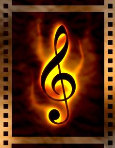 音楽の写真素材 [FYI00099300]