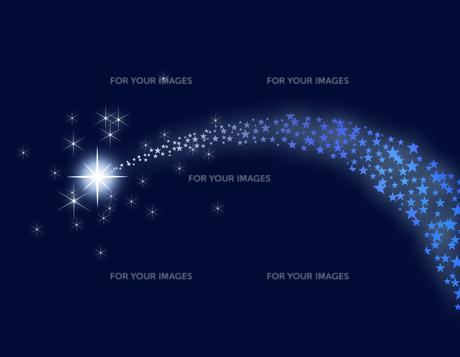 流れ星の写真素材 [FYI00099302]