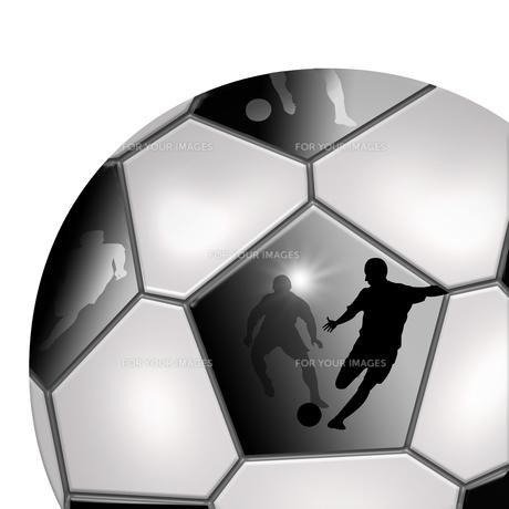 サッカーボールの素材 [FYI00099336]