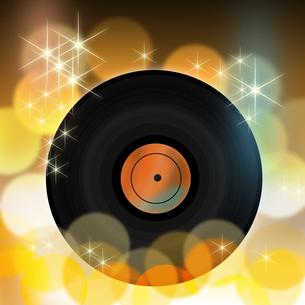 レコード盤の写真素材 [FYI00099407]