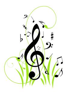 音楽の写真素材 [FYI00099413]