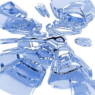 氷イメージの写真素材 [FYI00099415]