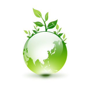 エコ地球の写真素材 [FYI00099486]