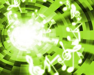 音楽と光の写真素材 [FYI00099501]